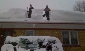 déneigement de toitures 2